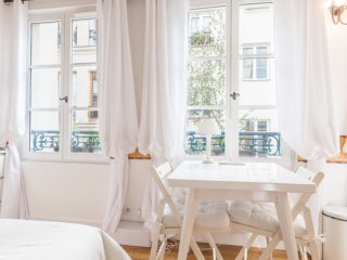 Cheerful and peaceful studio in the vibrant Marais