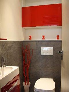 WC with Italian furnishings