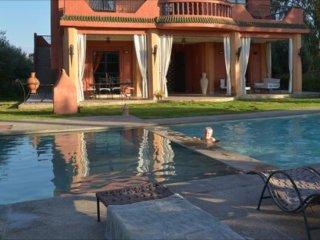 Villa Regina avec piscine vue sur l Atlas
