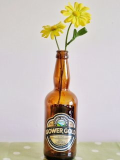 Local beer from Swansea brewery - Gower Gold