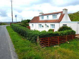 Isle of Lewis, Self Catering Cosy Cottage in the village of Cromore, sleeps 6