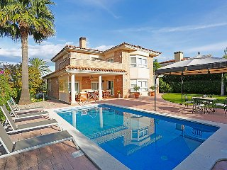 5 bedroom Villa in Cambrils, Costa Daurada, Spain : ref 2379226