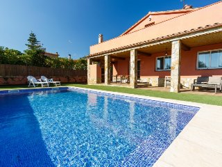 4 bedroom Villa in Caldes de Malavella, Costa Brava, Spain : ref 2379738
