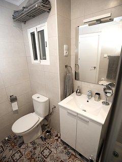 Cuarto de baño con ventilación natural