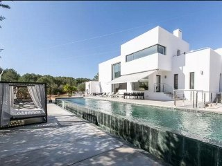 Luxurious minimalist style villa located in the Santa Gertrudis area.