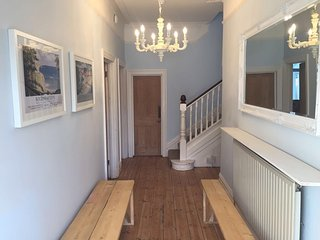 Bournemouth Beach House sleeps up to 18 guests & walking distance to the beach!