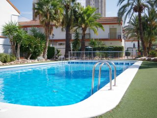 Modern Town House Levante Beach, Swimming Pools, Children's area WiFi Air Con TV