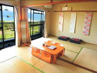 Seaside/Downtown/ Zen Style Apartment, Beppu