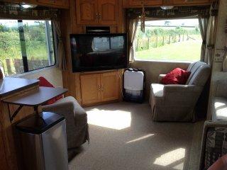 Amazing American RV rental with stunning sea views