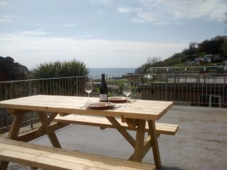 Luxurious Seaside Apartment, Spectacular Views, Millendreath, Looe