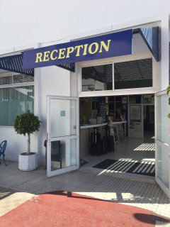 Reception area manned by helpful staff 24 hours, 7 days a week.