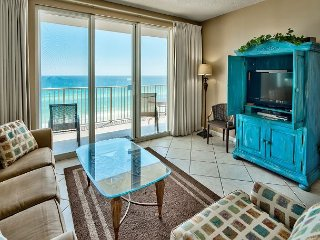 Uniquely Stylish Deluxe 8th Floor Majestic Sun Condo with Stunning Gulf Views