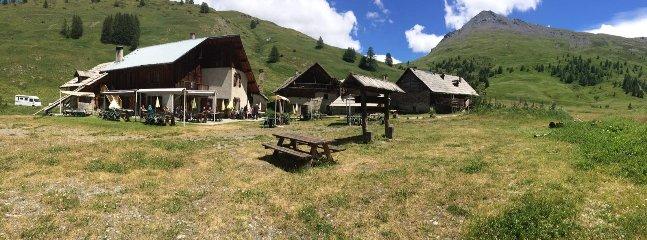 O povoado Fundo de Cervières