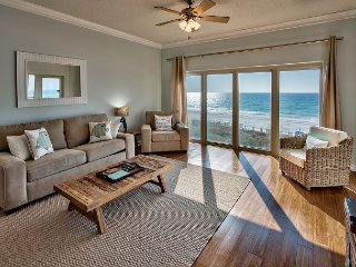 Two Bedroom Condo Offers Gulf Views From Living Room & Master Bedroom!