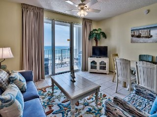 Gulf Front Condo offers Spectacular Beach Views from your Private Balcony!