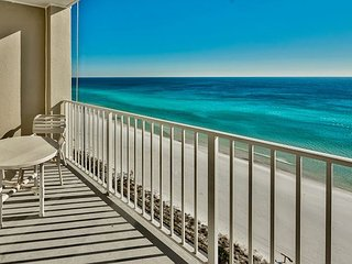 This Majestic Sun Condo offers Endless Gulf Views! Pool, hot tub & MORE!
