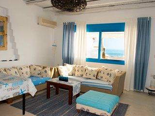 Wunderschönes Haus am Strand, 6 Personen, Makry-Gialos
