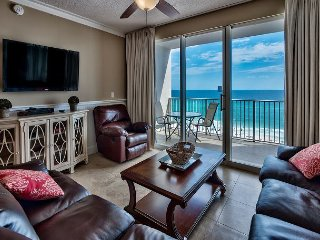 Two bedrooms & a Private Balcony with Full Views of the Gulf of Mexico!
