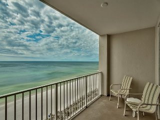 Endless Gulf Views from this Cozy 10th Floor Majestic Sun Condo at Seascape!