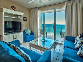 Cute & Cozy 9th Floor Majestic Sun Condo. Enjoy Panoramic Views of the Gulf!