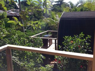 A Peace in Paradise Log Cabana, Anse La Mouche