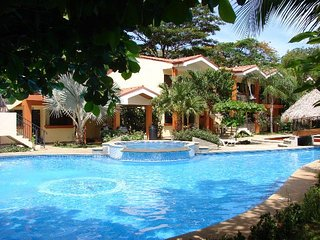 Secure gated complex close to beach, shopping and beach