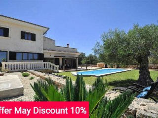 Last minute offer 10% May 2017 - Country house with private pool for 8 people, Algaida