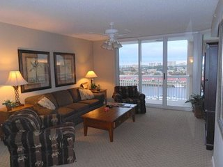 Amazing view of IntraCoastal Waterway~Elegant resort surroundings & end unit!