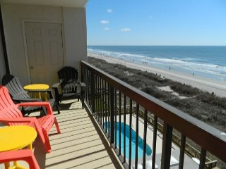 Beach! Pool! Relax! Repeat! & enjoy every minute on your Ocean Front balcony!