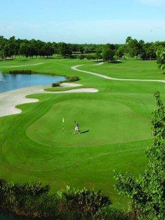 World class golf course!