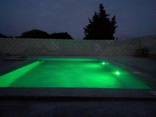 Exclusiva piscina de agua salada
