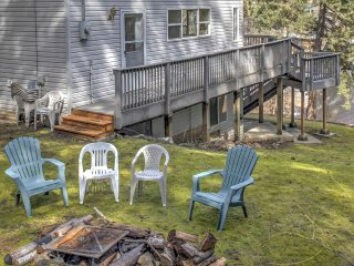 With a spacious yard and deck, this home will provide lots of fun outdoors.