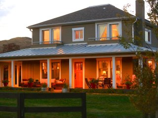 Whiskey Belle Ranch, an Elegant Western Bed & Breakfast.  The NightHawk Bedroom, Livermore