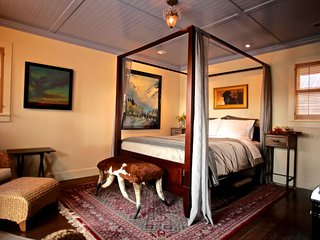 Whiskey Belle Ranch, an Elegant Western Bed & Breakfast.  The Pendelton Bedroom