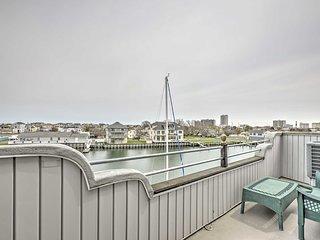 NEW! Waterfront 1BR Atlantic City Condo w/ Deck!