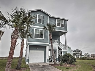 NEW! 4BR Galveston House w/ Private Beach Access!