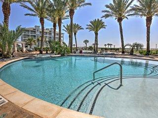 NEW! Bayfront 3BR Resort-Style Galveston Condo!