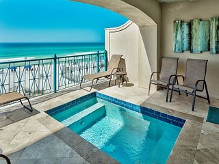 AQUA-GULF FRONT,JULY29-AUG5 RATE REDUCED FROM $8205 TO $7468!SAVE $737!!!