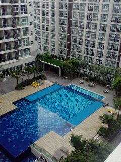 Swimming Pool from up view