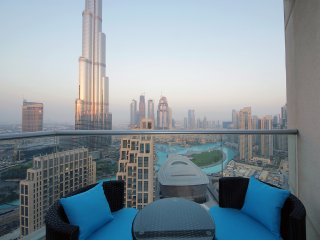 Startling views of dancing fountain , Burj Khalifa , Opera  in The Lofts DownTow