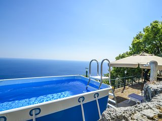 Sea view CASA LUCI with private swimming pool