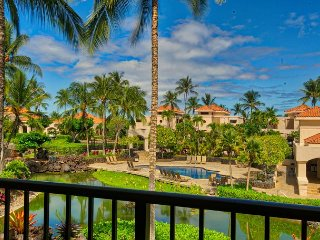Beautiful Resort Views - Upscale Floor 2 - Walk to Beach | Large Lanai/BBQ, Waikoloa