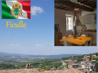elegant historical holiday home in ficulle locanda bruscia, Ficulle
