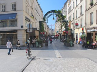 HEART OF PARIS = MONTORGUEIL Area ; MODERN, BRIGHT