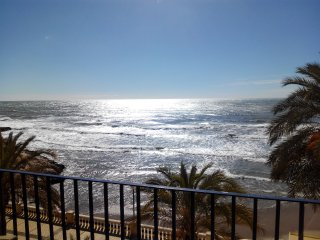 Apartamento a pie de playa con vistas espectaculares