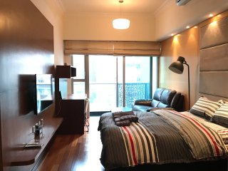 Lux new 1BR 3min Wanchai MTR w/ Rooftop,pool & gym