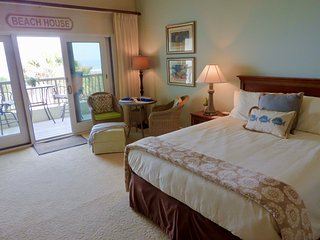 New Oceanfront Suite Getaway - Sandcastles Villa Amelia Island Plantation Resort