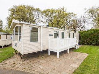 Ref 80012 Conifer Court  Beautiful caravan at Haven Hopton in Norfolk.