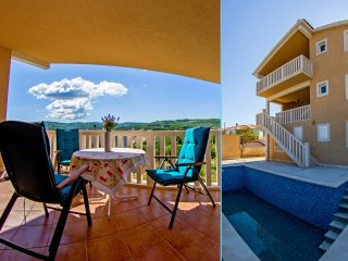 Villa for up to 20 people with private pool and sea view, Sumartin