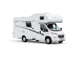 Fiat Dethleffs motorhome for 6 people